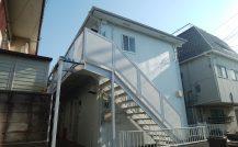 松戸市 Pアパート改装工事外壁塗装施工例 詳細