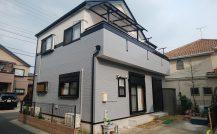 松戸市 H様邸改装外壁塗装施工例 詳細
