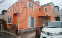 柏市 T様邸改装外壁塗装施工例 詳細