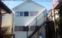 松戸市Kコーポ外壁塗装施工例 詳細