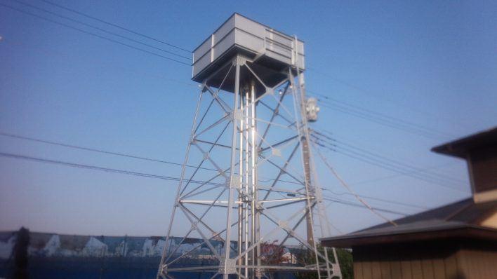 松戸市 K自治会.貯水槽タワー塗装工事