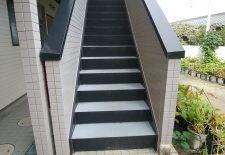 市川市 K様Kコーポ階段改装工事