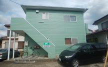 柏市 Mアパート改装外壁塗装施工例 詳細