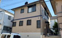 松戸市 B様邸外部改装工事外壁塗装施工例 詳細