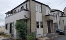松戸市 H様邸外部改装工事外壁塗装施工例 詳細