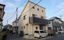 松戸市 F様邸外部改装工事外壁塗装施工例 詳細
