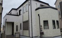 松戸市 I様邸外部改装工事外壁塗装施工例 詳細