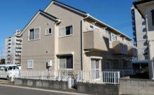 松戸市 Eアパート外部改装工事外壁塗装施工例 詳細