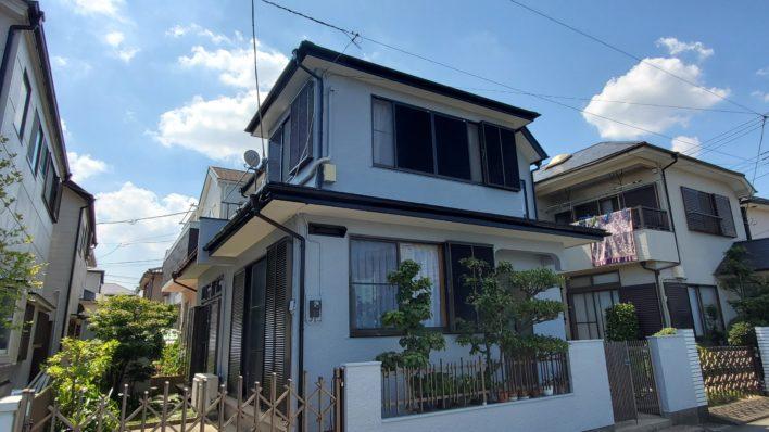 松戸市K様邸外部改装工事